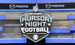 A part of NFL Network's 'Thursday Night Football' set.