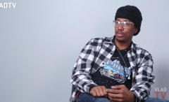 This is Nick Cannon's VLAD TV interview.