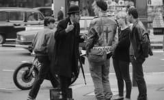 London protest, 1984.