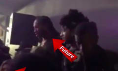 This is Future and Larsa Pippen caught dancing together by TMZ.