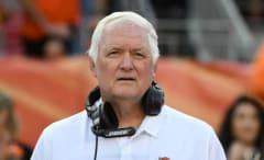 Broncos defensive coordinator Wade Phillips.