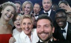 Oscars selfie 2014