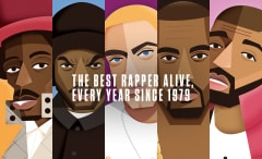The Best Rapper Alive, Every Year Since 1979