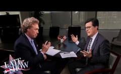 Stephen Colbert Canadien citizenship interview