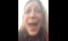 Woman rants on Facebook Live.