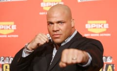 Kurt Angle during Spike TV's 2006 Video Game Awards