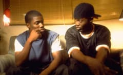 Kevin Hart and Derron 'Smokey' Edington in 'Paper Soldiers'