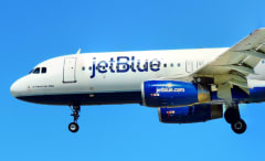 This is a JetBlue plane.