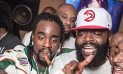 Rick Ross and Wale.
