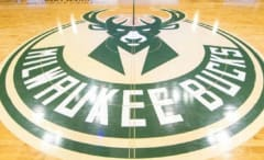 Milwaukee Bucks court design