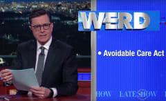 Colbert is the late night host we need right now.