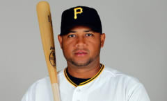 Infielder Andy Marte #12 of the Pittsburgh Pirates