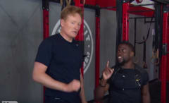 Conan and Kevin Hart