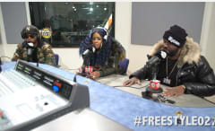 This is Remy Ma and Papoose freestyling for Hot 97.