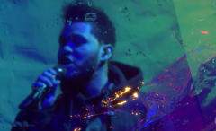 """This is The Weeknd performing """"Starboy"""" and """"I Feel It Coming"""" on 'The Tonight Show.'"""