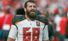 Tampa Bay Bucs center Joe Hawley