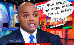 Charles Barkley roasts ESPN on TNT's 'Inside the NBA.'
