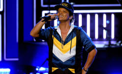 This is a photo of Bruno Mars.