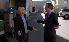 Larry David, John Oliver
