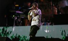 Eminem in Brazil.
