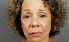 Mariah Carey's sister's mugshot.