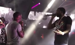 Meek Mill and Kevin Hart