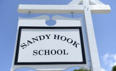 Sandy Hook School Sign