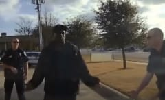 Ricky Williams stopped, questioned by Tyler, Texas police.