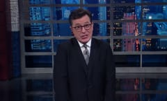 Colbert on 'Late Show'