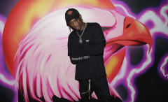 Travis Scott attends his 'Hood Toyota' Pop-Up Shop