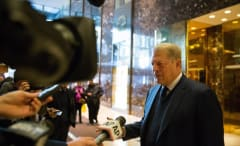Al Gore at Trump Tower.