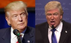 Donald Trump and Alec Baldwin composite