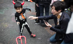 Child Dressed as the Devil
