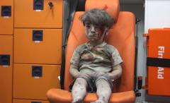 Injured Syrian refugee Omran Daqneesh