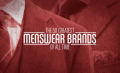 50 Greatest Mesnwear Brands of All Time