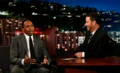 Stephen A. Smith appears on 'Jimmy Kimmel Live.'