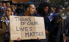 trans of color lives matter