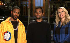 This is a photo of Aziz Ansari.