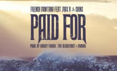 "This is French Montana's single art for ""Paid For."""