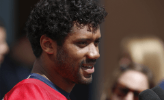 russell wilson up close