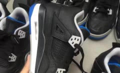 Air Jordan 4 Black White Soar 308497-006