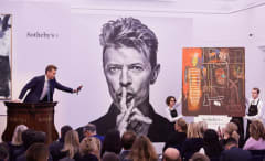 David Bowie art auction.