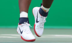 Serena Williams USA Olympics Nike Flare Lede