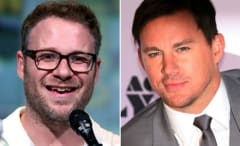 Seth Rogen and Channing Tatum composite.