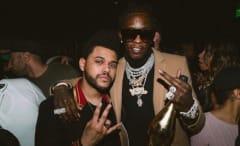Young Thug and The Weeknd on IG