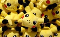 Pikachu toys in Japan