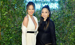 Monica Rose and Chrissy Teigen