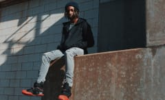 Nike LeBron Soldier X lookbook with Jazz Cartier