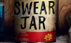 The swear jar from 'Luke Cage'