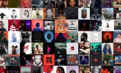 Album sales collage